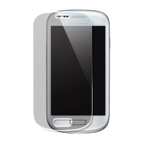 Case Protection d'écran en verre trempé pour Samsung Galaxy S3 mini, Transparent