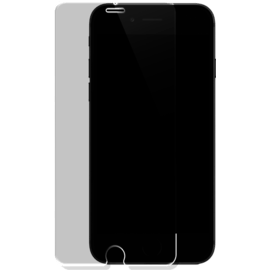Case Protection d'écran en verre trempé pour Apple iPhone 7 Plus/8 Plus, Transparent