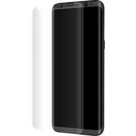 Case Advanced Curved Edge-to-Edge Tempered Glass Screen Protector for Samsung Galaxy S8, Transparent