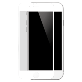 Case Full Coverage Tempered Glass Screen Protector for iPhone 6/6s, White