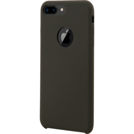 Soft Gel Silicone Case for Apple iPhone 7plus/8plus, Dark Olive Green