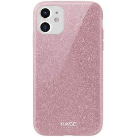 Sparkly Glitter Slim Case for Apple iPhone 11, Rose Gold