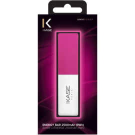 Energy Bar, 2500mAh, Super Pink