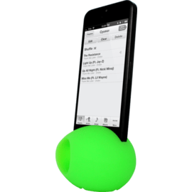 Egg Sound amplifier for Apple iPhone 4/4S, Green