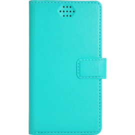 Case Universal flip case for Smartphone (up to 3.5 inch), Turquoise