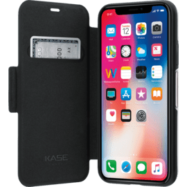 Air Protect Folio Flip Case for Apple iPhone X/XS, Black