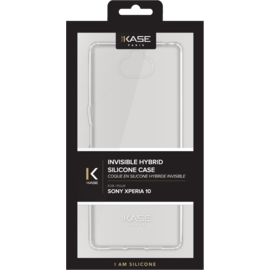 Coque hybride invisible pour Sony Xperia 10, Transparent