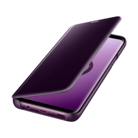 Clear View cover avec fonction Stand Purple Galaxy S9+