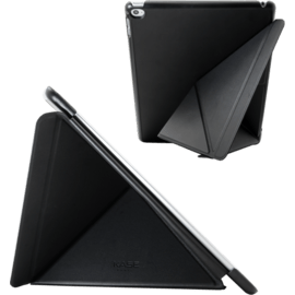 Origami Coque clapet Multi-position pliable pour Apple iPad Air 2, Noir Satin