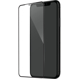 Full Coverage Tempered Glass Screen Protector for Apple iPhone XS Max/11 Pro Max, Black