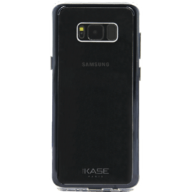 Case Coque en silicone hybride invisible pour Samsung Galaxy S8, Transparent