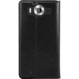 Book-type Slim flip case with stand for Microsoft Lumia 950, Black