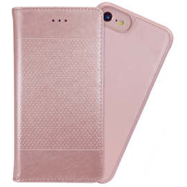 Case 2-in-1 Magnetic Slim Wallet & Case for Apple iPhone 6/6s/7/8, Rose Gold
