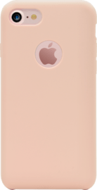 Case Soft Gel Silicone Case for Apple iPhone 7, Sandy Pink