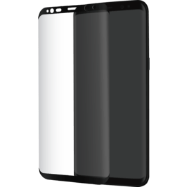 Advanced Curved Edge-to-Edge Tempered Glass Screen Protector for Samsung Galaxy S8, Black
