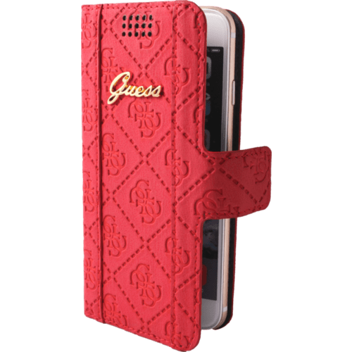 Case Guess Scarlett Universal flip case for Smartphone (up to 4.7 inch), Lipstick Red
