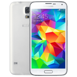 Galaxy S5 16 Go -  Shimmery White - Grade Silver