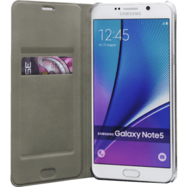 Wallet Case for Samsung Galaxy Note 5, Gold