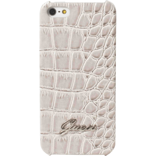 Case Guess Case for Apple iPhone 4/4S, Hard, croco Beige
