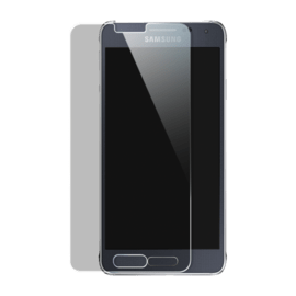 Premium Tempered Glass Screen Protector for Samsung Galaxy Alpha, Transparent