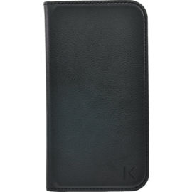Case Book-type flip case with credit card slots for Samsung Galaxy Grand 2, Black