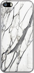 Case White marble phone case by mikath