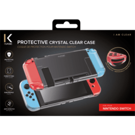 Protective Crystal Clear Case for Nintendo Switch, Transparent