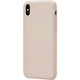 Anti-Shock Soft Gel Silicone Case for Apple iPhone XS Max, Sandy Pink