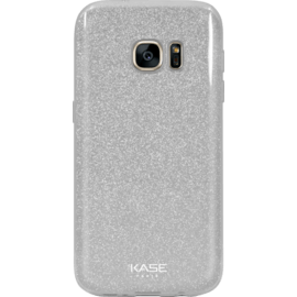 Case Sparkly Glitter Slim Case for Samsung Galaxy S7, Silver