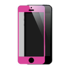Pellicola salvaschermo premium in vetro temperato per Apple iPhone 5 / 5s / 5C / SE, rosa