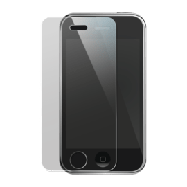 Case Tempered Glass Screen Protector for Apple iPhone 3/3GS, Transparent