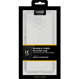 Invisible Hybrid Case for Nokia 9 PureView, Transparent