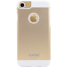 Coque aluminium ultra slim pour Apple iPhone 6/6s/7, Champagne