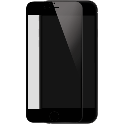 Case Full Coverage Tempered Glass Screen Protector for iPhone 6/6s Plus, Black