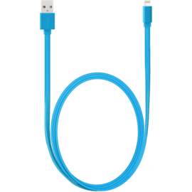 Apple MFi certified Lightning Charge/Sync Cable (1M), Sky Blue