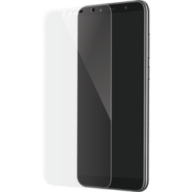 Full Coverage Tempered Glass Screen Protector for Huawei Honor 7A/ Y6 (2018), Transparent