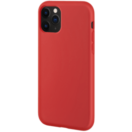 Anti-Shock Soft Gel Silicone Case for Apple iPhone 11 Pro, Fiery Red