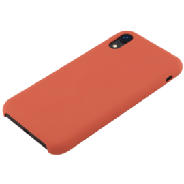 Soft Gel Silicone Case for Apple iPhone XR, Spicy Orange