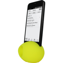 Egg Sound amplifier for Apple iPhone 5/5s/5C/SE, Yellow