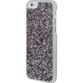 Rhinestone Bling case for Apple iPhone 6/6s, Pink Flambe & Silver