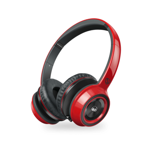 Case Monster Casque NCredible NTune On-Ear, Rouge