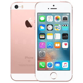 iPhone SE reconditionné 16 Go, Or rose, débloqué