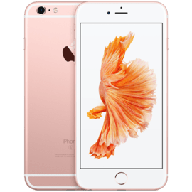 Case IPhone 6s Or rose 16 Go, reconditionné