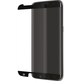 Advanced Curved Edge-to-Edge Tempered Glass Screen Protector for Samsung Galaxy S7 Edge, Black