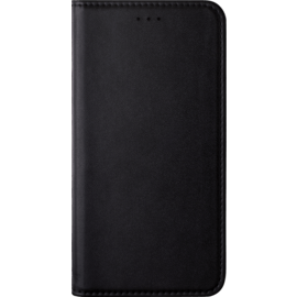 Folio Flip case with card slot & stand for Huawei Honor 7X, Black