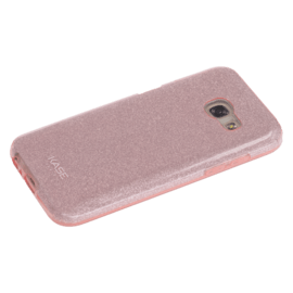 Sparkly Glitter Slim Case for Samsung Galaxy A3 (2017) , Rose Gold