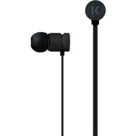Case High-Clarity Noise Isolating In-Ear Headphones, Black
