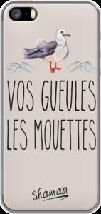 Case Coque ' Vos gueules les mouettes ' by Le Fabuleux Shaman