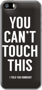 Case You cant touch this (black) by soltib