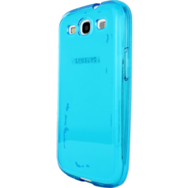 Case Case for Samsung Galaxy S3, Blue silicone